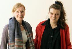 Dorothee Fischer (links) und Isabell Zerbe