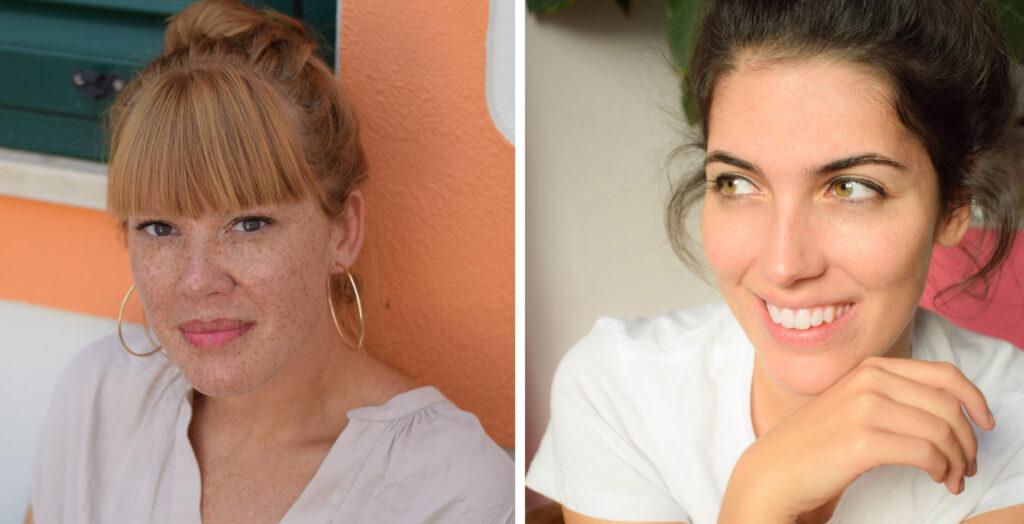 Hanna Janko (links) und Larissa Meier