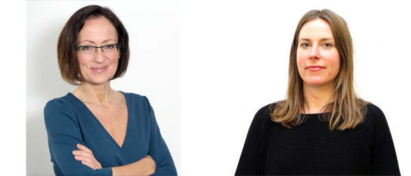 Frauke Jürgens und Britta Eberlee
