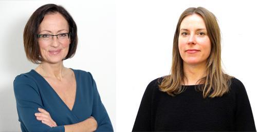 Frauke Jürgens (links) und Britta Eberlee