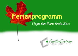 Herbstferien Programm
